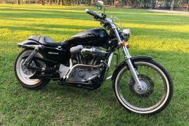 Harley Davidson, Sportster Custom | 2015